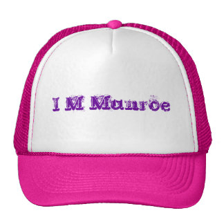 I het Pet/de Meisjes van M Munroe Trucker Petten