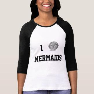 I het T-shirt van het Honkbal van de Meerminnen