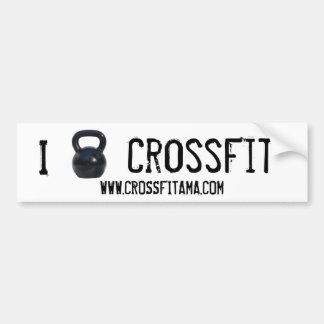 I kettlebell Bumper CrossFit Bumpersticker