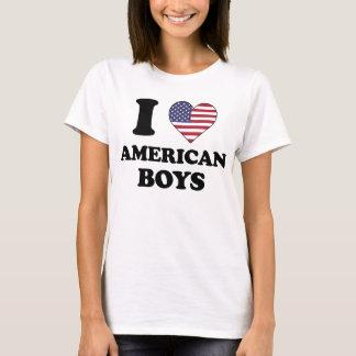 I love American Boys T Shirt