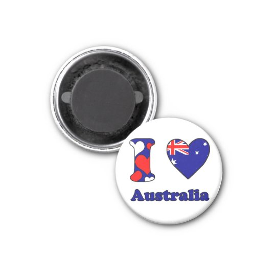 I love Australia Magneet