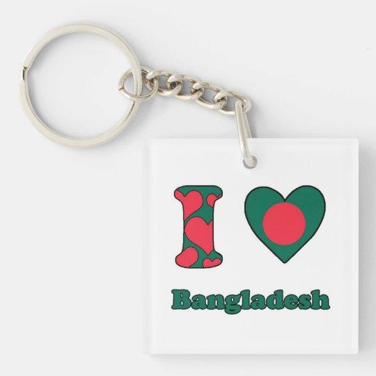 I love Bangladesh Sleutelhanger