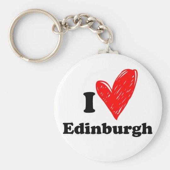 I love Edinburgh Sleutelhanger