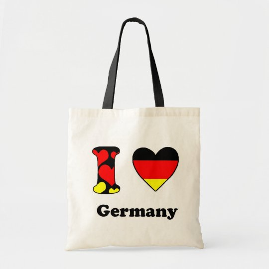 I love Germany Draagtas