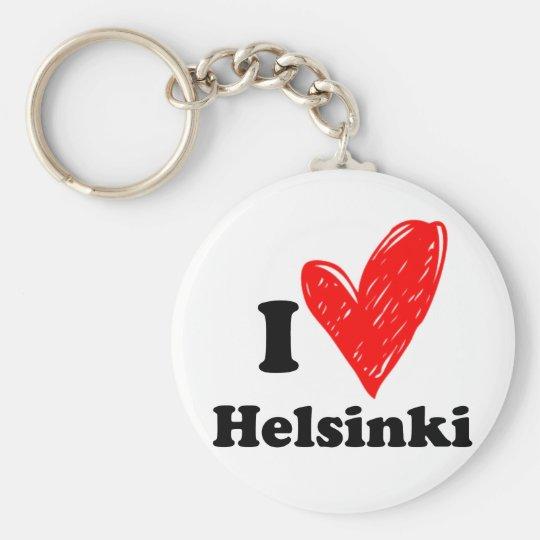 I Love Helsinki Sleutelhanger