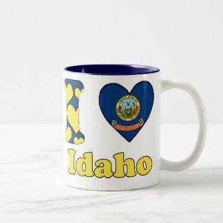 I love Idaho Tweekleurige Koffiemok