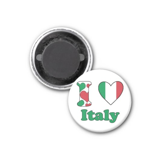 I love Italy magnet Magneet