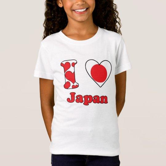 I love Japan T Shirt