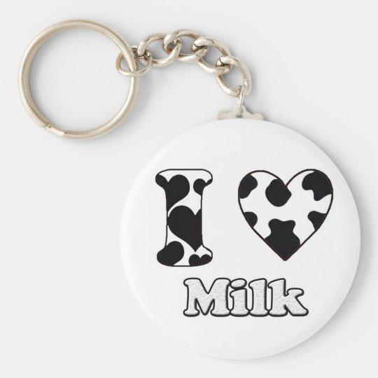 I love Milk Sleutelhanger