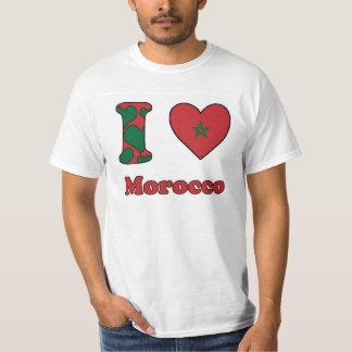 I love Morocco T Shirt