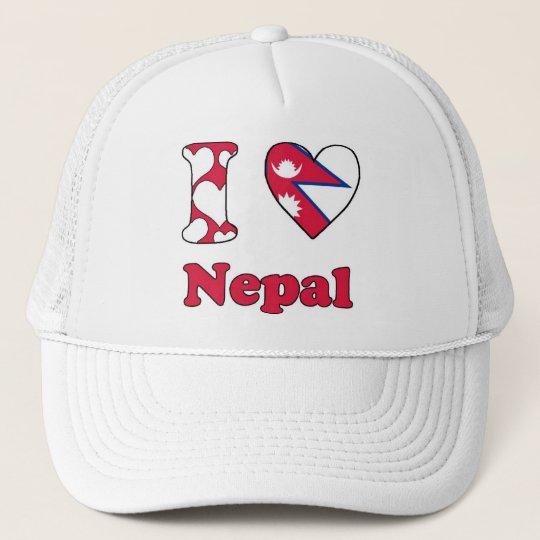 I love Nepal Trucker Pet
