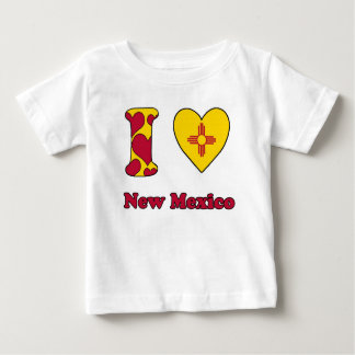 I love New Mexico Baby T Shirts