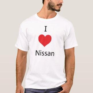 I Love Nissan T Shirt