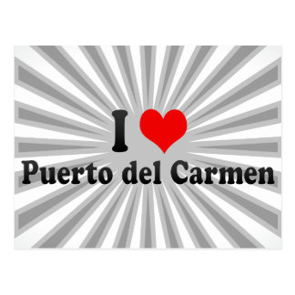I Love Puerto del Carmen, Spanje Briefkaart