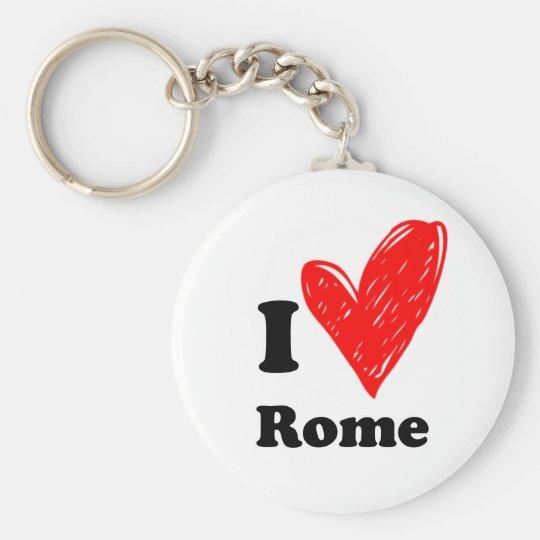 I Love Rome Sleutelhanger
