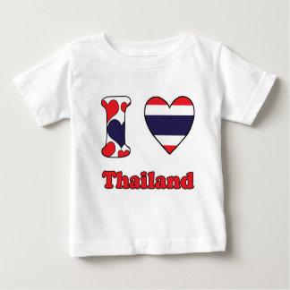 I love Thailand Baby T Shirts