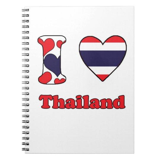 I love Thailand Ringband Notitieboek