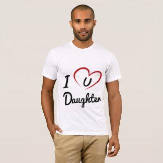 I Luv uDochter M T Shirt