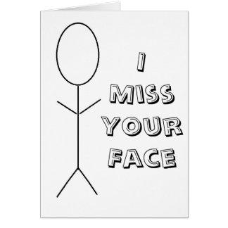 I Misser Your Pop Kaart