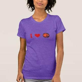I Nano T-shirt van de Dames van Mars van het Hart