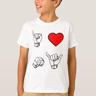 I NY van het HART - witte achtergrond T Shirt