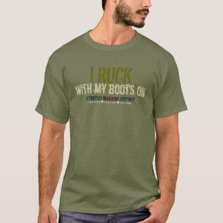 I Ruck met Mijn Groene Laarzen - T Shirt