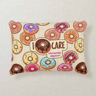 I Snoepje van de Doughnut van de Zorg van de Accent Kussen