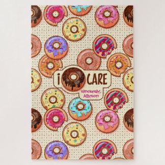 I Snoepje van de Doughnut van de Zorg van de Legpuzzel