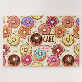 I Snoepje van de Doughnut van de Zorg van de Puzzel