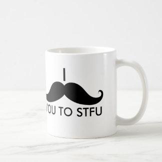 I Snor u aan STFU Koffiemok