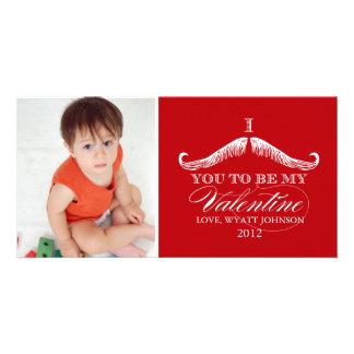 I Snor u om Mijn Valentijn te zijn Foto Wenskaarten