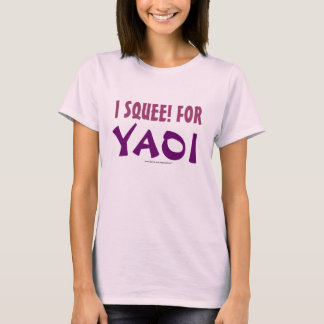 I Squee! voor Yaoi T Shirt