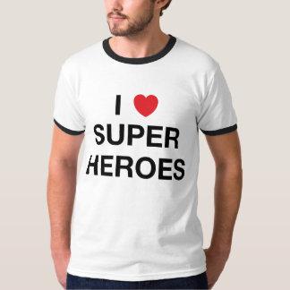 I T-shirt van de HELDEN van het HART de SUPER