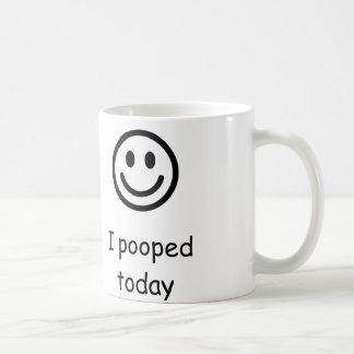 I uitgeput vandaag koffiemok