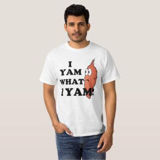 I Yam wat de Yam van I T Shirt