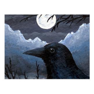 IBHO 58 Crow Raven Briefkaart