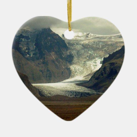 Iceland Glacier Ornament