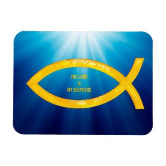 Ichthus - het Christelijke Symbool van Vissen - Magneet
