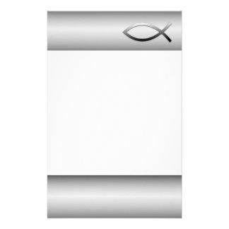 Ichthys Jesus Fish Christian Symbol Briefpapier