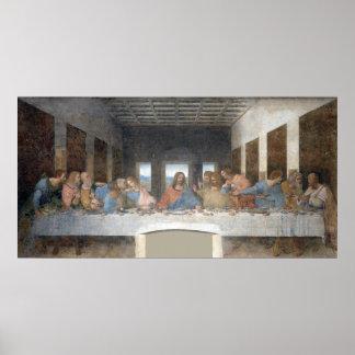 Iconisch Leonardo da Vinci het Laatste Avondmaal Poster
