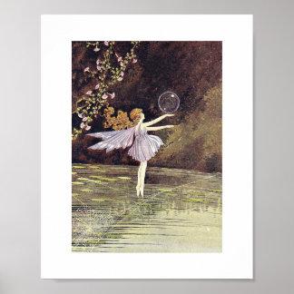 Ida Ballet Rentoul - Spiderweb Poster