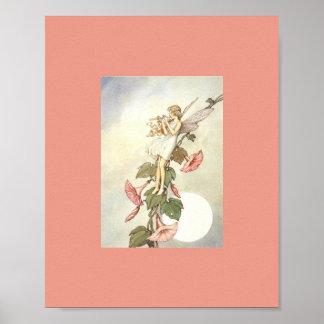 Ida Rentoul Druk - de Trompet van de Bloem Poster