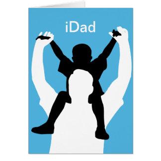 iDad de Grappige Kaart van het Vaderdag