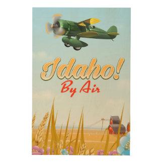 Idaho! Door de lucht Hout Afdruk