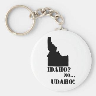 Idaho Geen Kaart Udaho Sleutelhanger