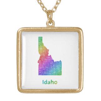 Idaho Ketting Vierkant Hangertje