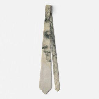 Ideaal Hoofd van een Vrouw door Michelangelo Persoonlijke Stropdassen
