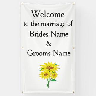 Ideeën van het Huwelijk van zonnebloemen de