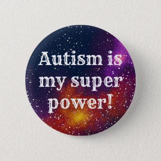 Identiteit van de Melkweg van het autisme de Ronde Button 5,7 Cm