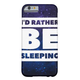 Identiteitskaart slaapt eerder (Ruimte) Barely There iPhone 6 Hoesje